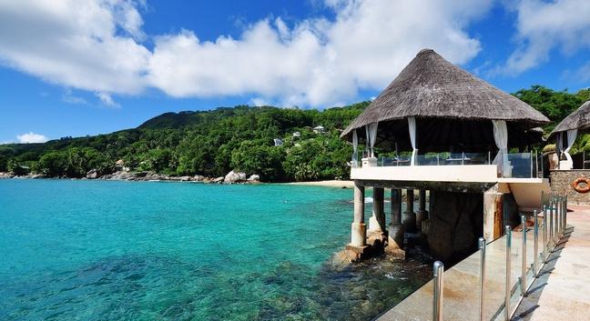 sunset beach hotel mahe seychelles european reservations. Black Bedroom Furniture Sets. Home Design Ideas
